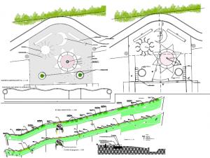 Pista ciclopedonale per la rigenerazione urbana di una nuova espansione edilizia