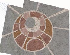PROGETTAZIONE URBANA Simulazione planimetrica e dei colori della PIazzetta Arti e Mestieri