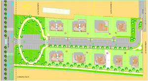 Progettazione urbanistica di nuova espansione residenziale