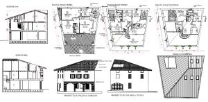 Restauro e ristrutturazione di edificio privato soggetta al controllo della Soprntendenza dei beni architettonici
